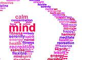 Sacred Word Cloud Presentation Template