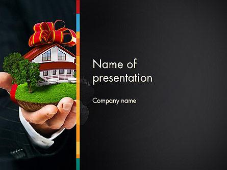 Real Estate Delivery Service Presentation Template, Master Slide