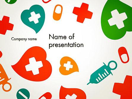 Medical Illustration Presentation Template, Master Slide