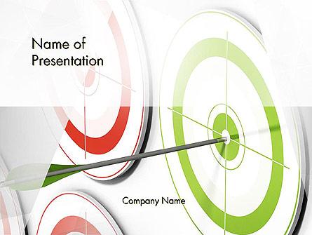 Building Target Market Presentation Template, Master Slide