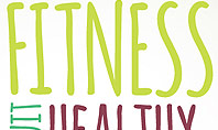 Healthy Lifestyle Word Cloud Presentation Template