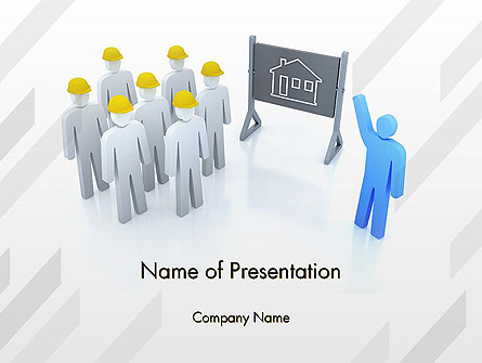 Discussion of Project Presentation Template, Master Slide