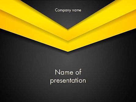 Abstract Envelope Presentation Template, Master Slide