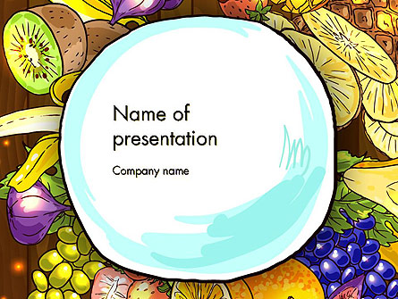 Fruits and Vegetables Diet Presentation Template for ...