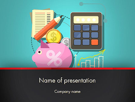 Accounting Software Presentation Template, Master Slide