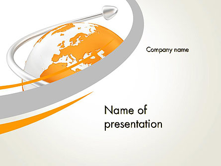 Orange Countries Presentation Template, Master Slide
