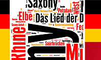 Germany Word Cloud Presentation Template