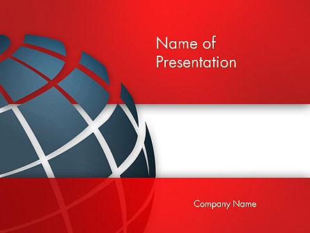Business Global Presentation Template, Master Slide