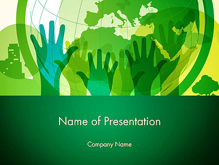Save The Planet Presentation Template, Master Slide
