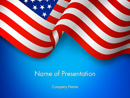 american patriotism presentation template for powerpoint and keynote