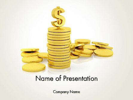 Financial Responsibility Presentation Template, Master Slide