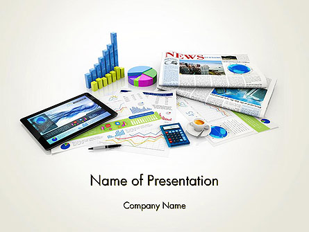 Business Management Concept Presentation Template, Master Slide
