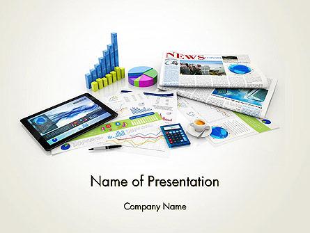 Business Management Concept Presentation Template, Master Slide
