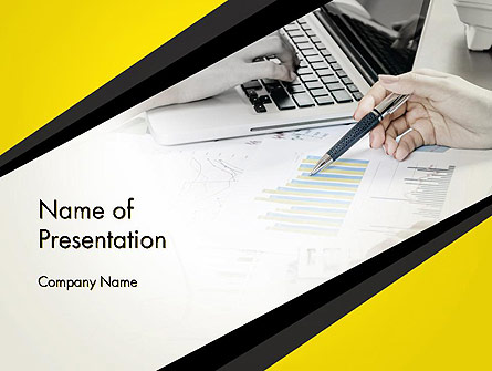 Company Internal Analysis Presentation Template, Master Slide
