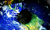 Globe in an Eye Presentation Template