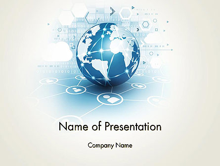 Strategic Communications Presentation Template, Master Slide