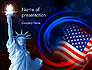 American Flag and Statue of Liberty slide 1