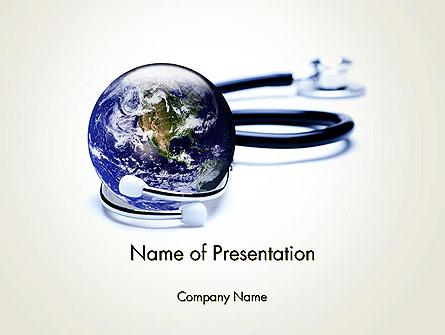 Global Medicine Concept Presentation Template, Master Slide