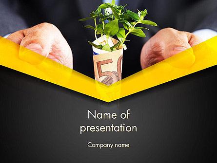 Growing Startup Presentation Template, Master Slide