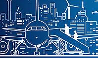 Airport Panorama Presentation Template