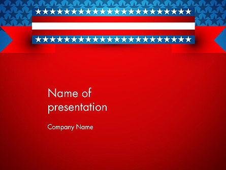 American Independence Presentation Template, Master Slide