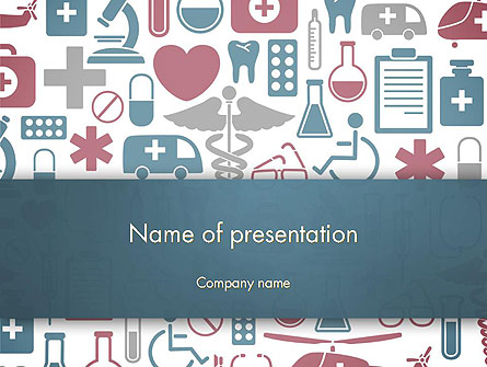 Medical Stuff Presentation Template, Master Slide