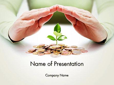 Green Finance Presentation Template, Master Slide