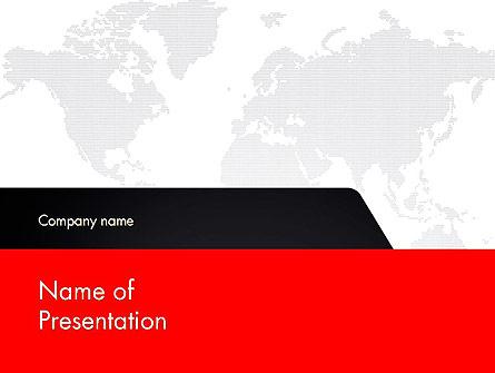 Global Business Management Presentation Template, Master Slide
