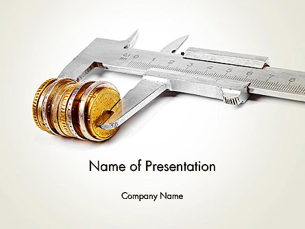 Business Valuations and Appraisals Presentation Template, Master Slide