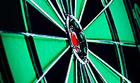 Bullseye Arrow Presentation Template