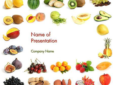 Fruit Mix Presentation Template, Master Slide