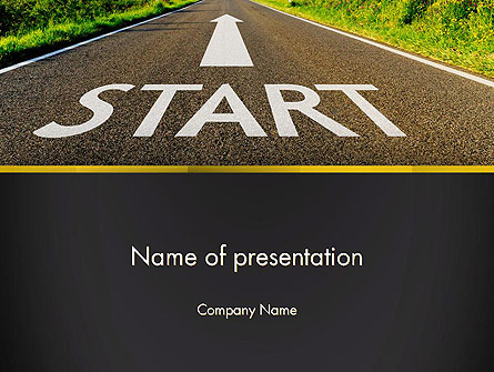 The Way Forward Presentation Template, Master Slide