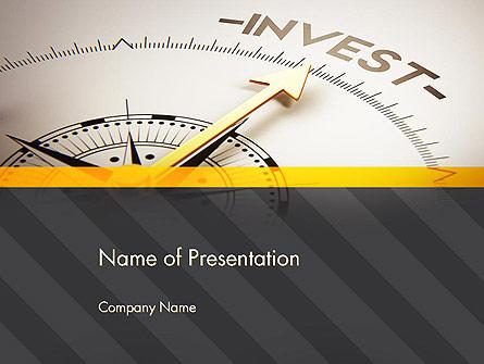 Invest Indicator Presentation Template, Master Slide