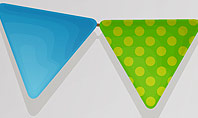 Paper Birthday Banner Presentation Template