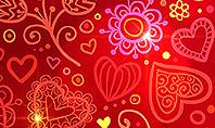 Love Frame Presentation Template