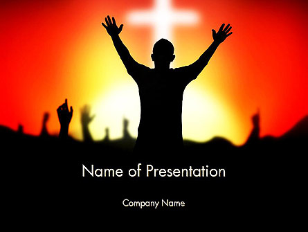 Christian Counseling Presentation Template, Master Slide