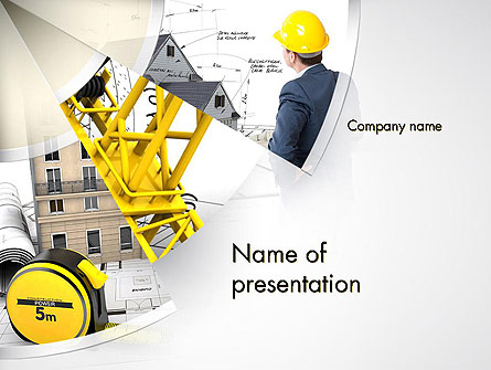 Reliable Architect Presentation Template, Master Slide
