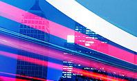 Big City High-speed Rhythm Presentation Template
