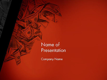 Blood Money Presentation Template, Master Slide