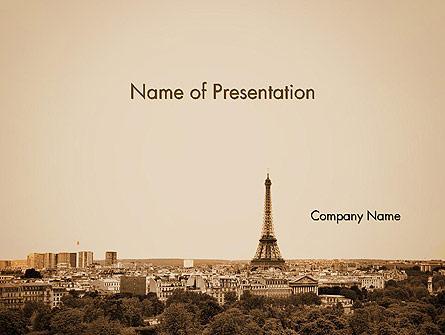 Destination France Presentation Template, Master Slide