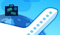 Modern Online Travel Presentation Template
