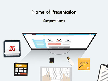 Creating a Web Page Presentation Template, Master Slide