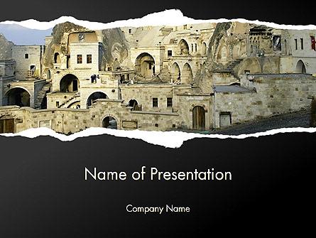 Cave City Presentation Template, Master Slide
