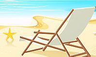 Sunny Beach Vacation Presentation Template