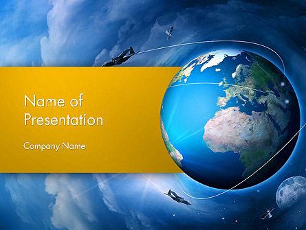 Air Navigation Presentation Template, Master Slide