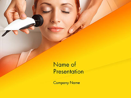 Radio Frequency Treatment Presentation Template, Master Slide