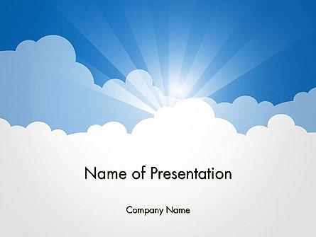 Blue Sky Presentation Template, Master Slide