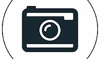 Photo Camera Icon Presentation Template