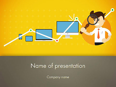 reporting analyst presentation template for powerpoint and keynote