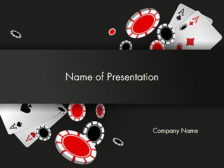 Poker Chips Presentation Template, Master Slide